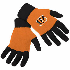Other - Cincinnati Bengals Stretch Knit Gloves Texting Tip